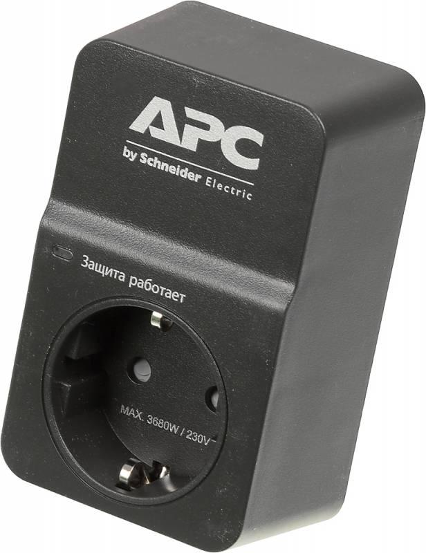 Сетевой фильтр APC PM1WB-RS 1 розетка, 400289, черный все цены