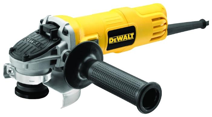 Углошлифовальная машина DeWalt DWE4051-KS, 800Вт 11800об/мин углошлифовальная машина patriot ag 128e 850вт 11000об мин d 125мм