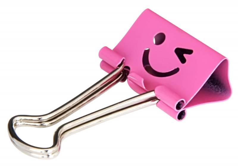 Зажимы для бумаг Deli Smile 8486, 25 мм, 48 шт8486Зажимы Deli 8486 smile, 25мм, ассорти (упак.:48шт) пластиковая туба