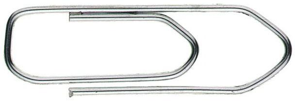 Скрепки Alco 261 никелированные, рифленый, 50 мм, 100 шт carcam alco 6000