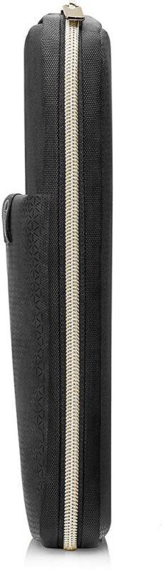 Чехол для ноутбука 15 HP Carry Sleeve черный/золотистый (3XD35AA) чехол для ноутбука 15 6 hp 2uf60aa неопрен черный золотистый