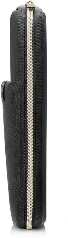 Чехол для ноутбука 15 HP Carry Sleeve черный/золотистый (3XD35AA) сумка для ноутбука 13 3 hp spectre red l zip sleeve 2hw35aa abb