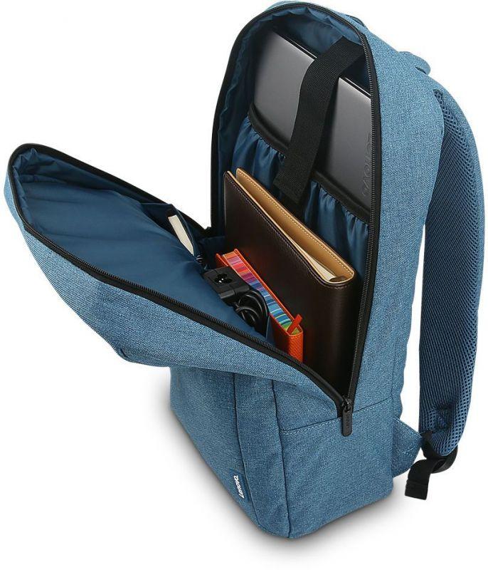 Рюкзак для ноутбука Lenovo B210, цвет: синий, 15.6(GX40Q17226) 28wh new laptop battery for lenovo thinkpad x1 helix tablet pc 45n1100 45n1101 41cp3 71 90