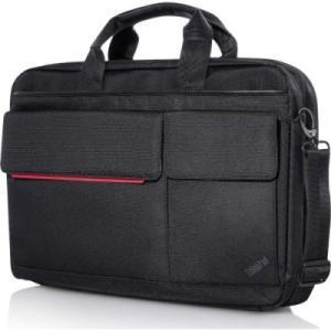 все цены на Сумка для ноутбука Lenovo ThinkPad Professional Topload, цвет: черный/красный, 15.6