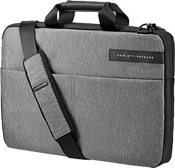 Фото - Сумка на плечо HP сумка для ноутбука 14 hp spectre slim topload 1pd70aa замша полиуретан сплит кожа черный серый