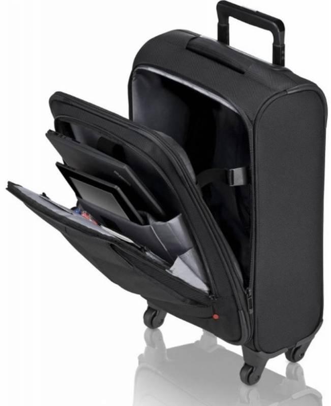 Сумка для ноутбука 15.6 Lenovo ThinkPad Professional Roller, цвет: черный, полиэстер (4X40E77327) сумка для ноутбука 15 6 lenovo thinkpad professional topload