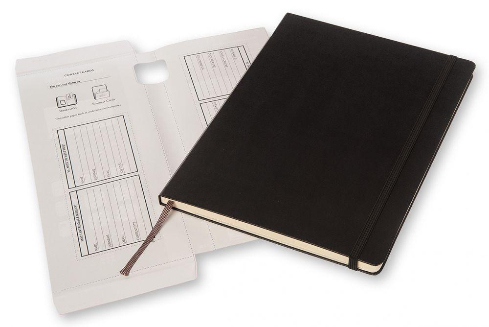 Блокнот Moleskine PROFESSIONAL, 192 листа, цвет: черный, 190х250 мм