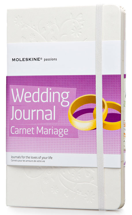 Блокнот Moleskine PASSION Wedding, 228 листов, цвет: белый, 130х210 мм