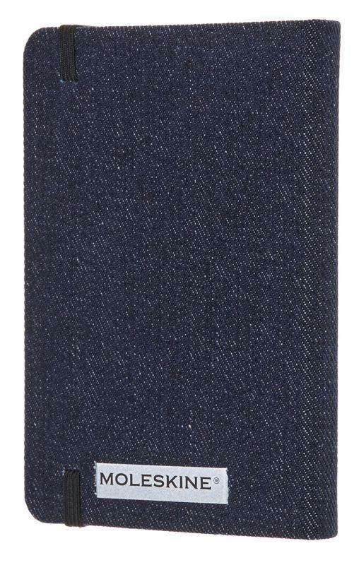 Блокнот Moleskine Limited Edition Denim, 192 листа, линейка, цвет: темно-синий, 90x140 мм