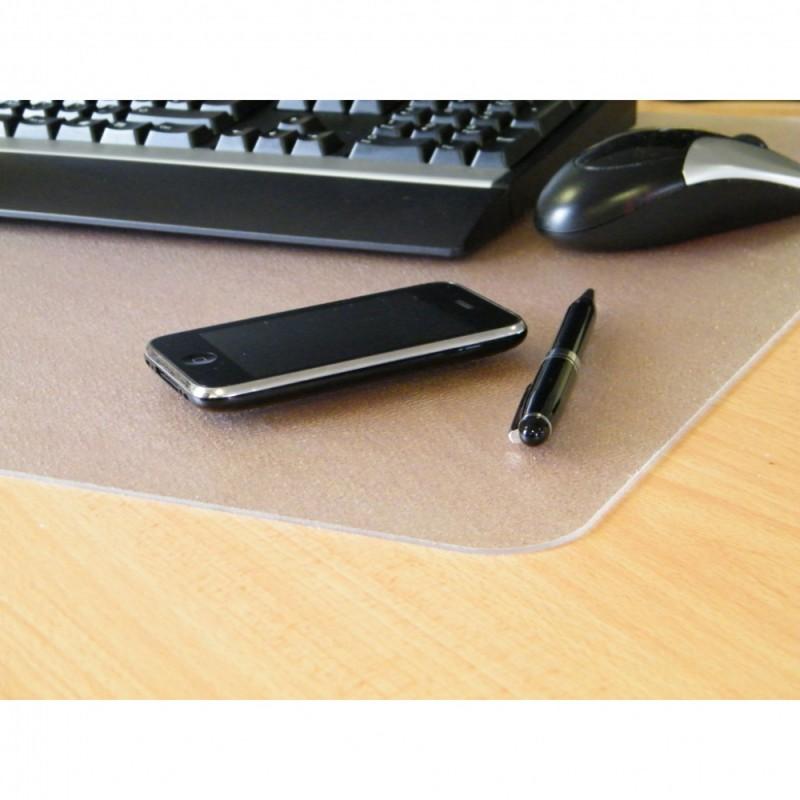 Настольное покрытие Floortex, поликарбонат, цвет: прозрачный, 48х61 см дпс настольное покрытие с картой россии 38 х 59 см