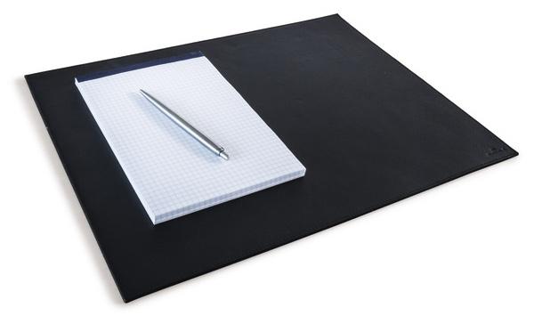 Настольное покрытие Durable, нескользящая основа, цвет: черный, 30x42 см