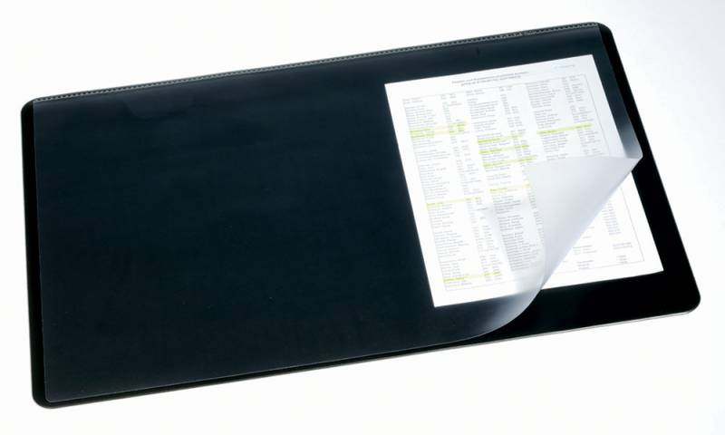 Настольное покрытие Durable, нескользящая основа, цвет: серый, 53x40 см