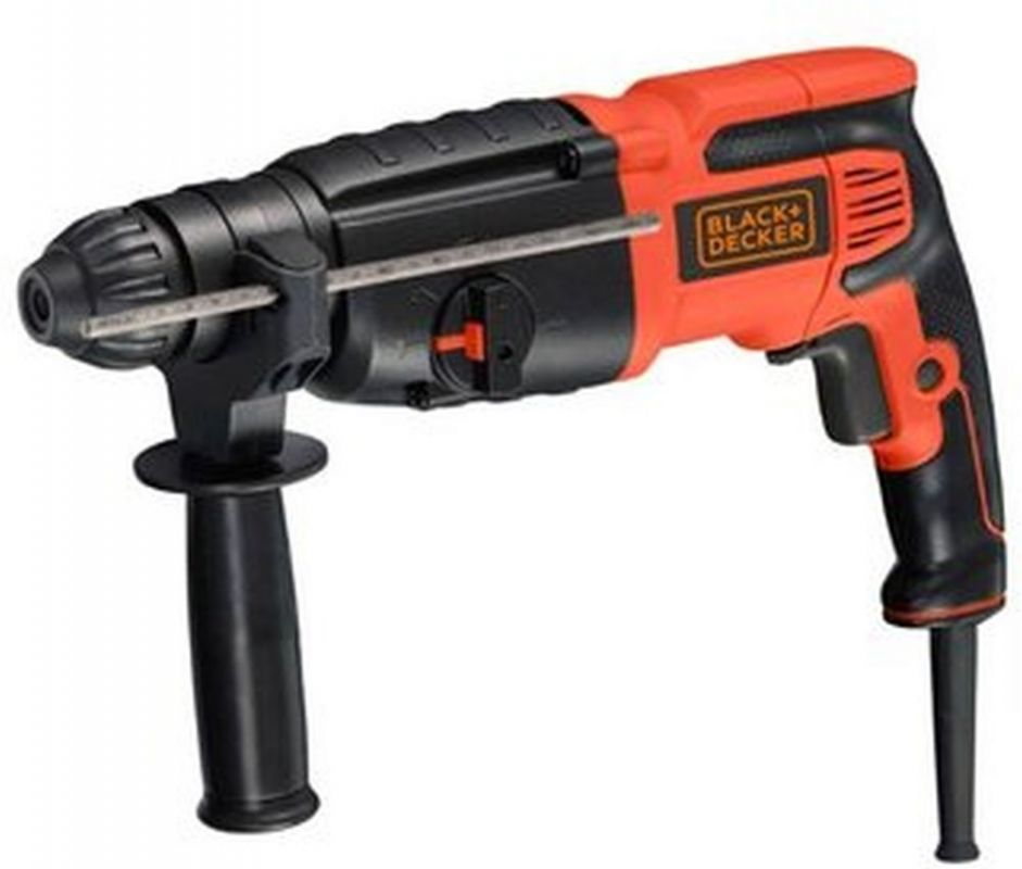 Перфоратор Black & Decker BDR26K-RU, 2.7Дж, 800Вт
