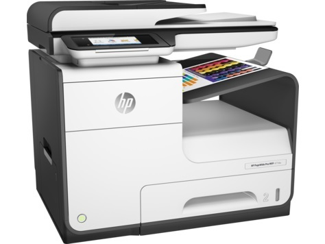 МФУ HP PageWide Pro 477dw, A4 Duplex Net WiFi USB RJ-45, D3Q20B / 385703, струйный, черный мфу hp pagewide 377dw j9v80b черный белый