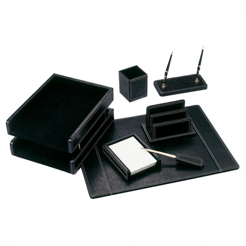 Настольный набор Good Sunrise BK7W-1A , 7 предметов, цвет: черный настольный канцелярский набор good sunrise m5b 5 5 предметов цвет красный
