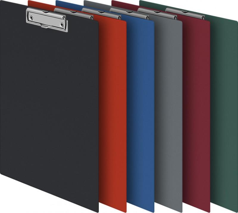Папка-планшет Durable 4201-07 с прижимом, цвет: синий, 35х23см