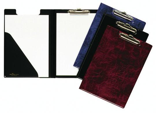 цена на Папка клип-борд Durable Clipboard Folder 2355-03, 2 кармана, цвет: красный мрамор, A4