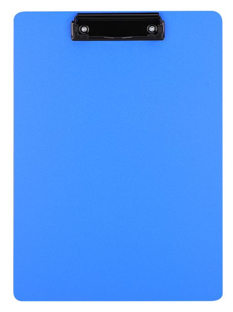 Папка клип-борд Deli EF75432, цвет: синий, A4 папка клип борд durable clipboard folder 2359 01 a5
