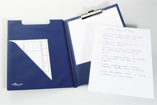 Папка-планшет Durable 4210-07, цвет: синий, A4