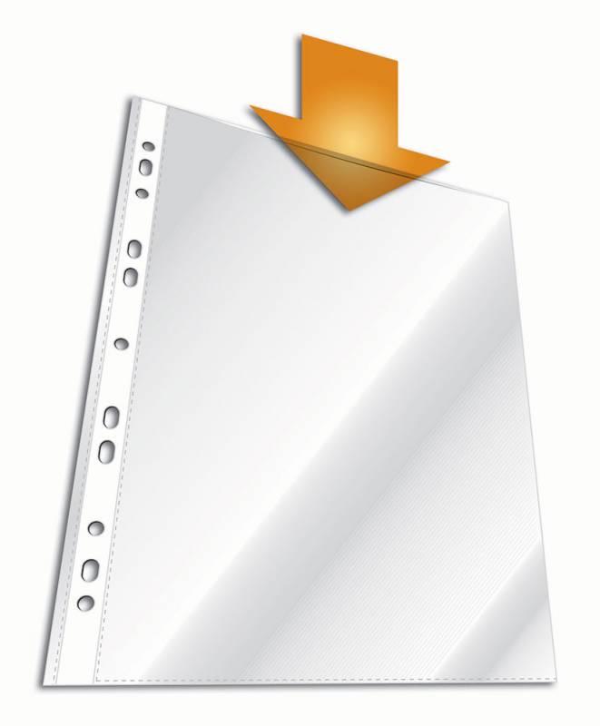 Папка-вкладыш Durable 2668-19 вертикальный, А4, 100 шт