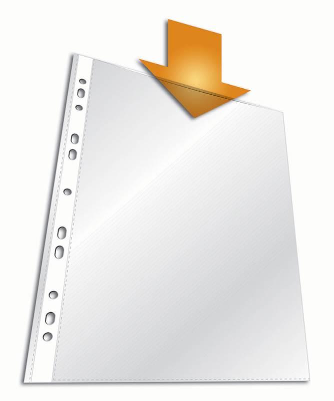 Папка-вкладыш Durable 2659-19 вертикальный, А4, 100 шт