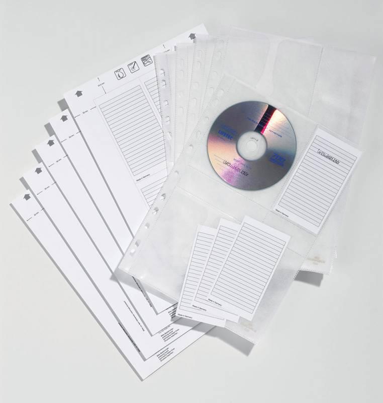Папка-карман Durable, цвет: прозрачный, 5 шт
