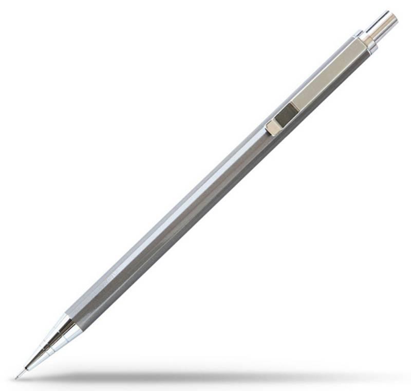 Карандаш механический Deli, 0,7 мм, с ластиком, металлический корпус карандаш механический deli bumpees 0 7 мм с ластиком