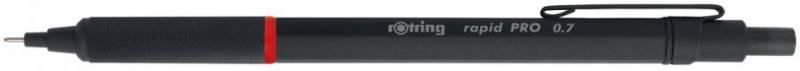 Карандаш механический ROTRING Rapid PRO, 0.7 мм, черный ручка шариковая rotring rapid pro 1904292 черный