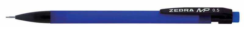 Карандаш механический Zebra MP, 0.5 мм, цвет корпуса: синий зеркало aqwella leon mp с панелью и светильником ln mp 02 04 w 40х80 см