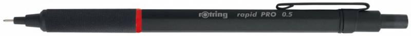 Карандаш механический Rotring Rapid PRO, 0.5 мм, цвет: черный ручка шариковая rotring rapid pro 1904292 черный