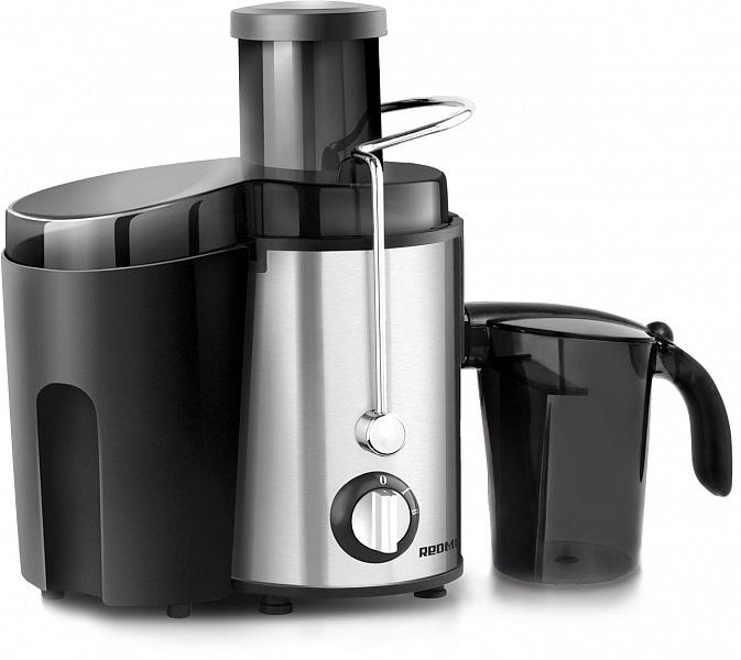 Соковыжималка центробежная Redmond RJ-M911, 860Вт, цвет серебристый/черный