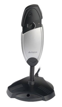 Вэб-камера A4tech PK-635K, черный / серебристый web камера qumo wcq 107