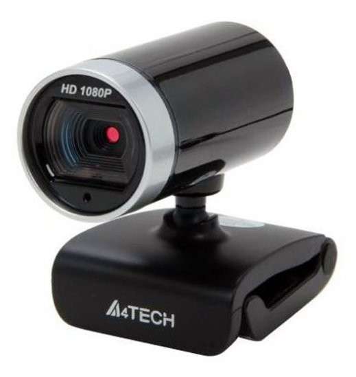 Камера Web A4 PK-910H черный 2Mpix (4608x3456) USB2.0 с микрофоном web камера qumo wcq 107