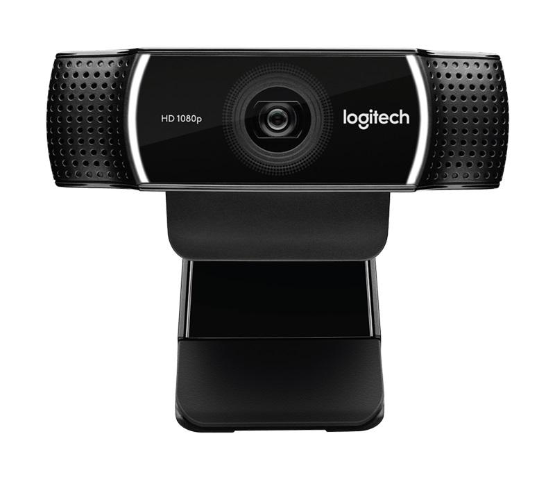 Камера Web Logitech Pro Stream C922 USB2.0 с микрофоном, 960-001088, черный web камера qumo wcq 107