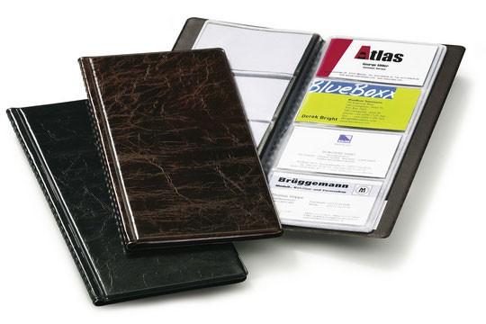 Фото - Визитница Durable Visifix 2380-01 переносная, 96 визиток, цвет черный визитница пвх синяя