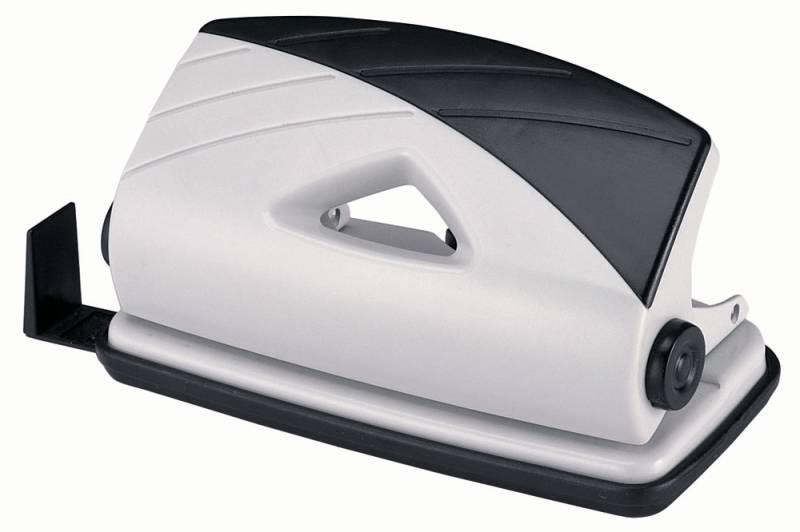 Дырокол Kw-Trio BIAS 90Q0, цвет черный, серый с линейкой все цены