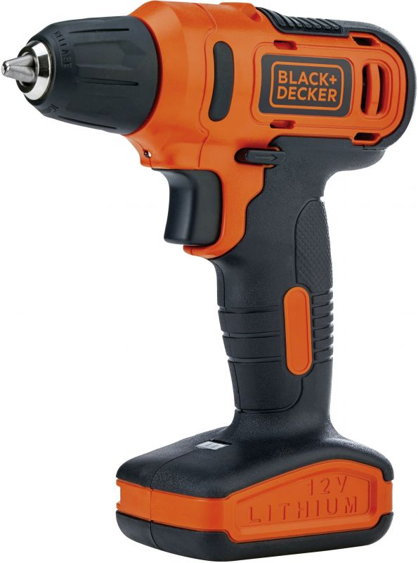 цена на Дрель-шуруповерт Black & Decker LD12SP-RU, аккумулятор