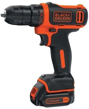 цена на Дрель-шуруповерт Black & Decker BDCDC18K-QW, аккумулятор
