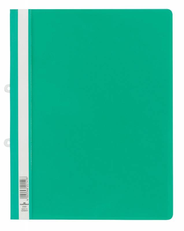Папка-скоросшиватель Durable, цвет: зеленый