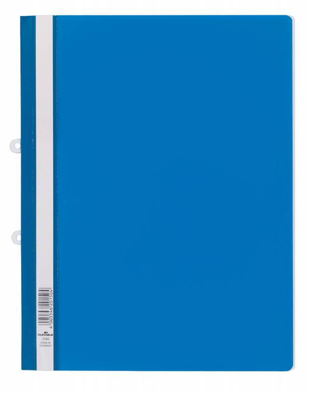 цена Папка-скоросшиватель Durable, цвет: синий онлайн в 2017 году