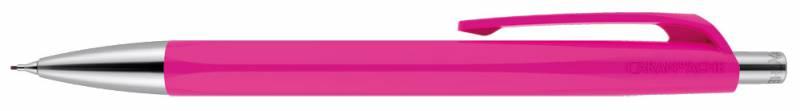 Карандаш механический Carandache Office INFINITE (884.090_GB), подарочная коробка, цвет:пурпурный, 0.7мм ручка шариковая carandache office infinite 888 253 gb swiss cross m синие чернила подар кор