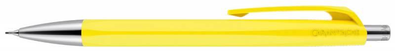 Карандаш механический Carandache Office INFINITE (884.240_GB) Lemon Yellow, подарочная коробка, 0.7мм ручка шариковая carandache office infinite 888 253 gb swiss cross m синие чернила подар кор