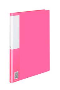 Папка Kokuyo Posity, металлический зажим, пластик, 0.7 мм, цвет: розовый, A4 стоимость