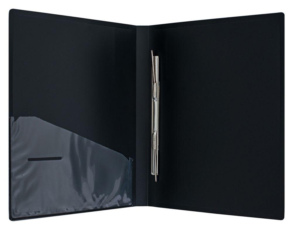 Папка-скоросшиватель Silwerhof Perlen, 0.7 мм, цвет: зеленый металлик, A4 папка с 100 прозр вклад silwerhof perlen 292900 76 a4 1 2мм карман мокрый асфальт металлик 5 шт кор