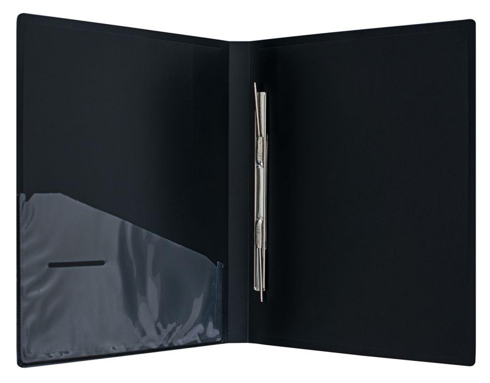 Папка-скоросшиватель Silwerhof Perlen 281904-77, A4, цвет: серебристый металлик папка с 100 прозр вклад silwerhof perlen 292900 76 a4 1 2мм карман мокрый асфальт металлик 5 шт кор
