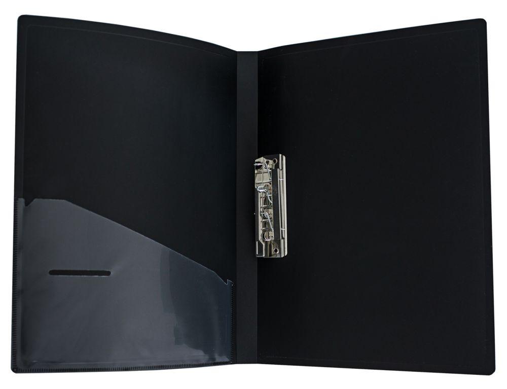 Папка Silwerhof Perlen 281905-75, метал.зажим, 0.7мм, цвет: зеленый металлик, A4 папка с 100 прозр вклад silwerhof perlen 292900 76 a4 1 2мм карман мокрый асфальт металлик 5 шт кор