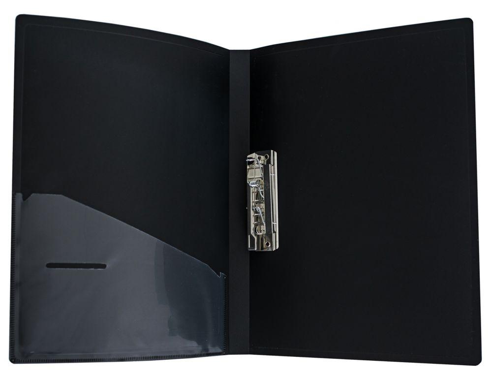 Папка Silwerhof Perlen 281905-73, метал.зажим, 0.7 мм, кор.20 мм внут.и торц. карманом, цвет: сиреневый металлик, A4 папка с 100 прозр вклад silwerhof perlen 292900 76 a4 1 2мм карман мокрый асфальт металлик 5 шт кор