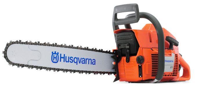 Бензопила Husqvarna 61, 2900Вт, 3.8л.с., дл.шин.:18 (45cm) цена