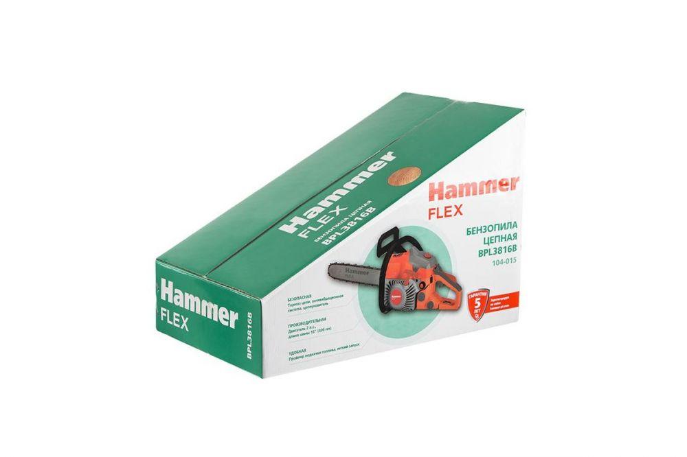 Бензопила Hammer Flex BPL3816B 1470Вт 2л.с. дл.шин.:16 (40cm) hammer nap 200a 16