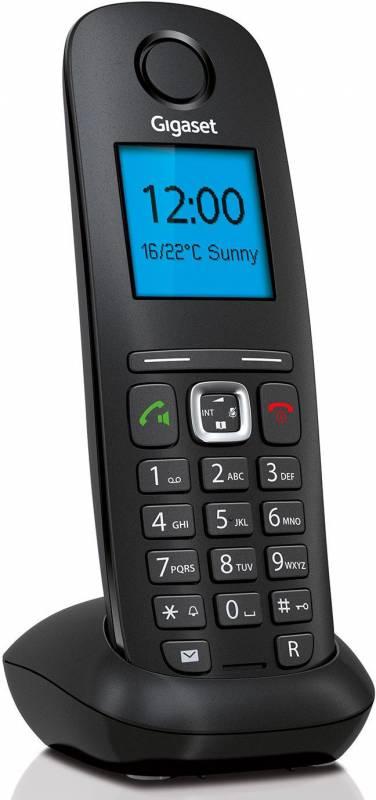 SIP телефон Gigaset IP/Dect A540IPSYSTEM, черный goip voip gateway gsm converter sip ip phone adapter ip pbx goip 1 sms gateway imei change voip telephones